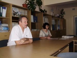 Директор Альбін Цалко та методист Пантус Наталія методист КПНЗ «Обласний центр НТТУМ»