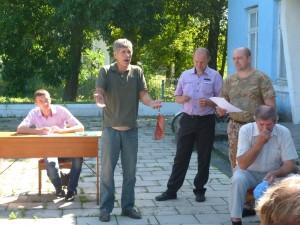 житель села Троковичі - Борис Слісарчук
